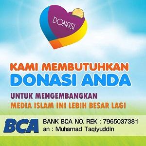 Rekening BCA 7965037381 - Muhamad Taqiyuddin