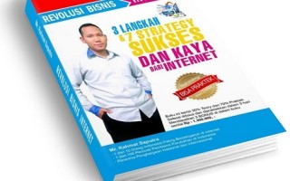 Cover Buku Revolusi Bisnis Internet Mega Best Seller Small Publish