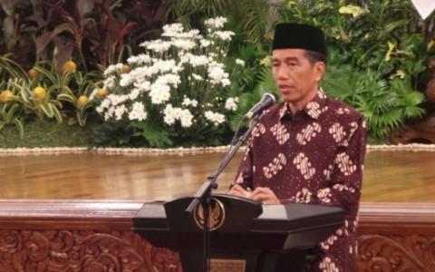 Maulid Nabi, Jokowi Ajak Doa Bersama