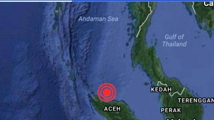 Peta Gempa Aceh