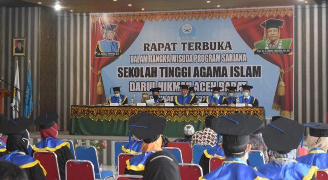 STAI Darul Hikmah Luluskan 79 Mahasiswa